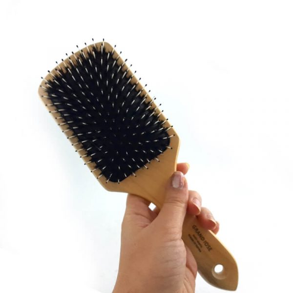 برس مو چوبی مستطیل