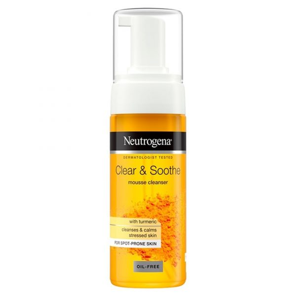 neutrogena clear & soothe