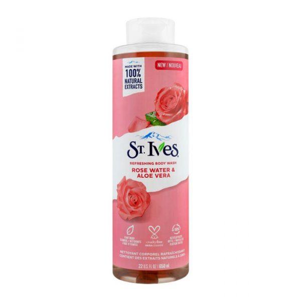 شامپو بدن سینت ایوز مدل Rose Water & Aloe Vera