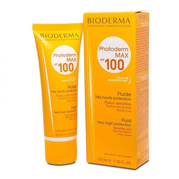 ضد آفتاب فلوئید بایودرما مدل فتودرم مکس SPF100