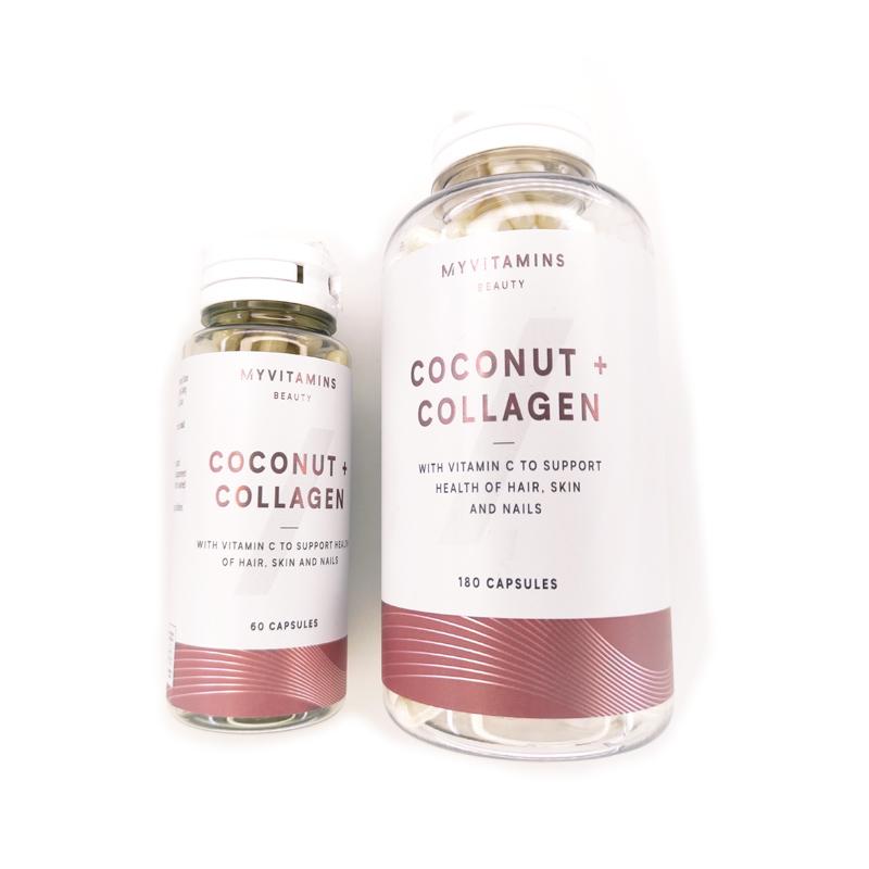 کپسول Myvitamins Coconut + Collagen