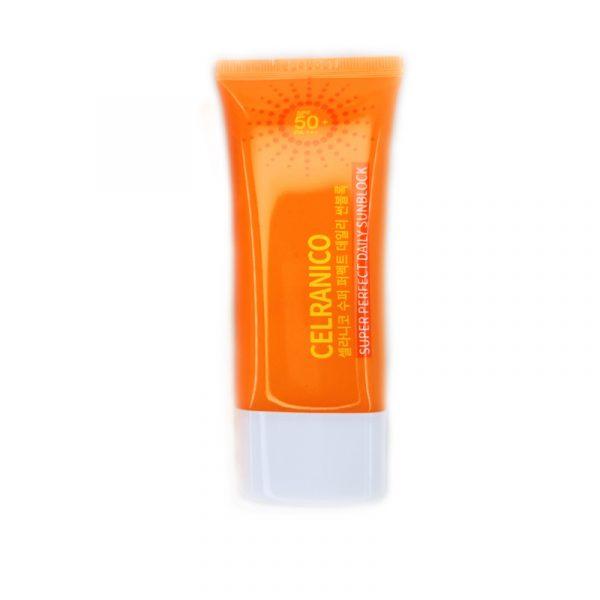 کرم ضد آفتاب +Celranico Super Perfect Daily SPF50