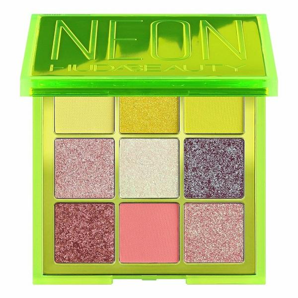 پالت سایه چشم 9 رنگ هدی بیوتی مدل Neon Obsessions سبز