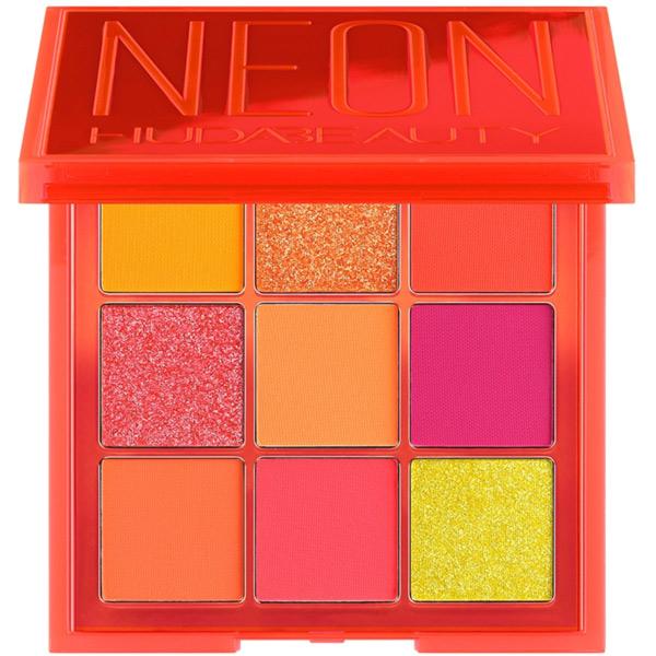 پالت سایه چشم 9 رنگ هدی بیوتی مدل Neon Obsessions صورتی