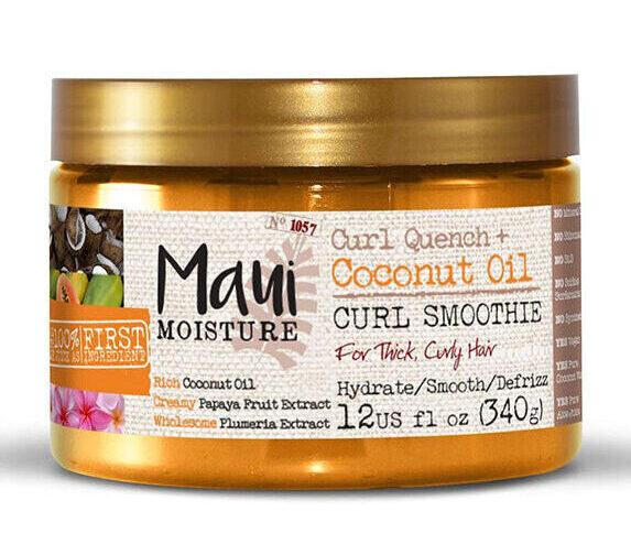 ماسک مو حمام Maui مدل Curl Quench + Coconut Oil